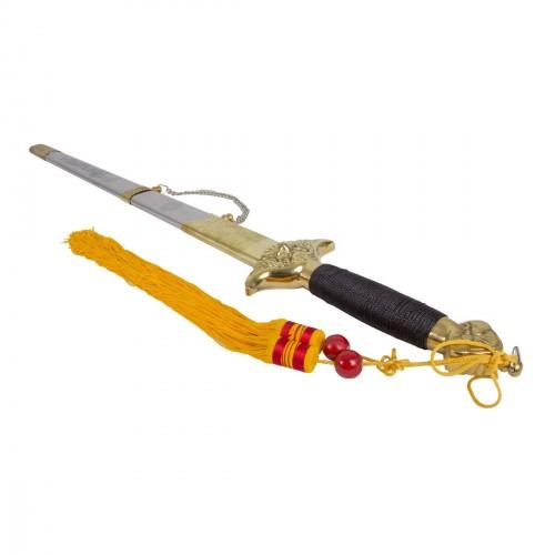 Tai Chi Sword. Steel. Metal scabbard