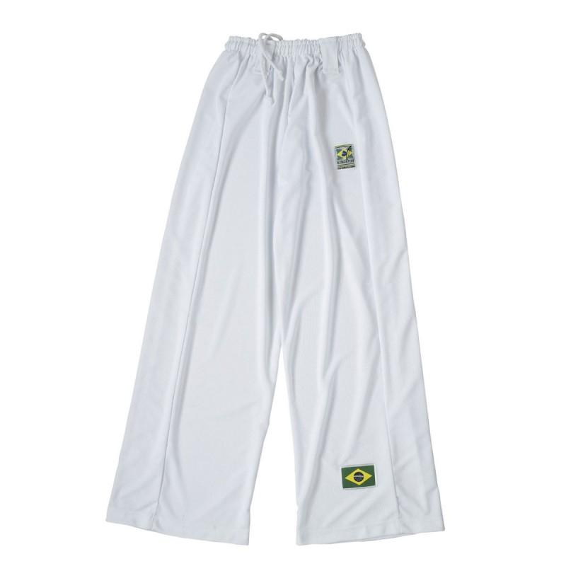 Pantalón Capoeira. Blanco