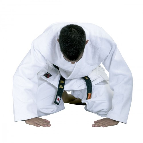 Judo Uniform. Master. White.