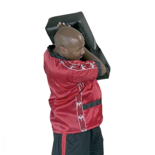 Trainer waist coat. Red/Black.