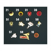 Metal Pin. All styles