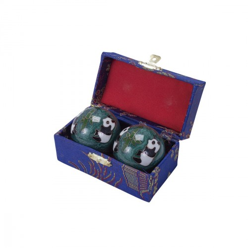 Chinese Health Balls. Decorated. With sound