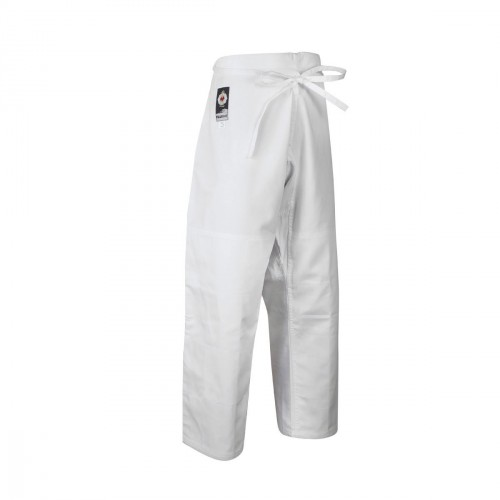 Pantalón Judo. Competición. Blanco