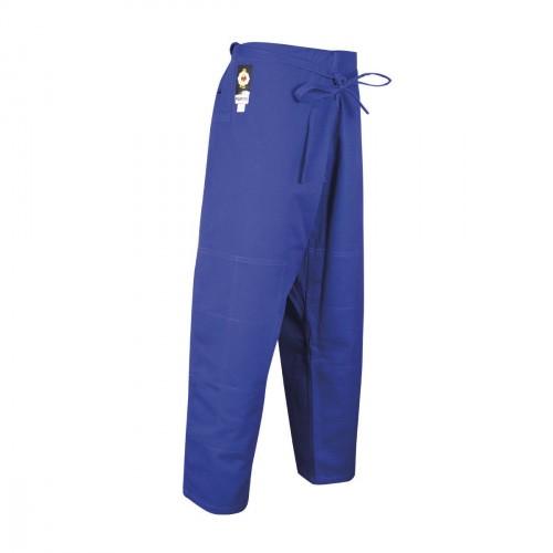 Pantalones Judo Competicion. Azul
