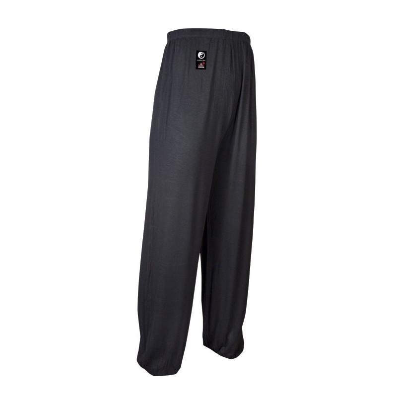 Pantalones Tai Chi Modal. Negro