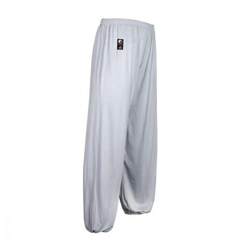 Pantalon Tai Chi Modal. Gris