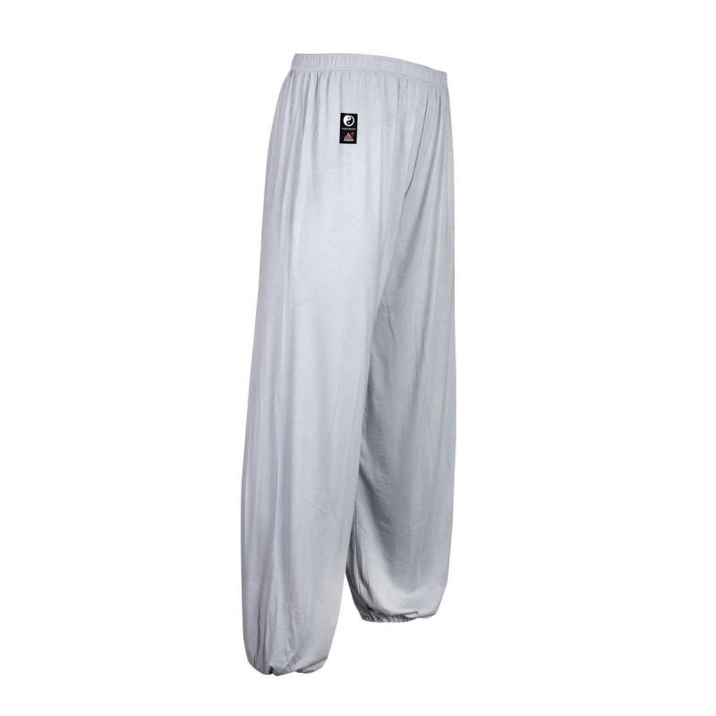 Pantalones Tai Chi Modal. Gris
