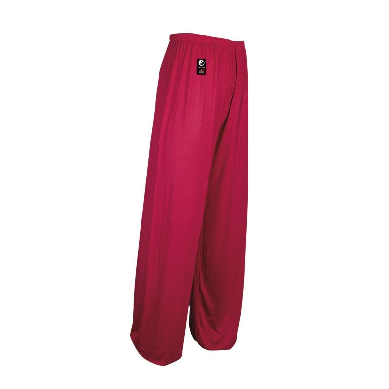 Modal Tai Chi Pants. Red