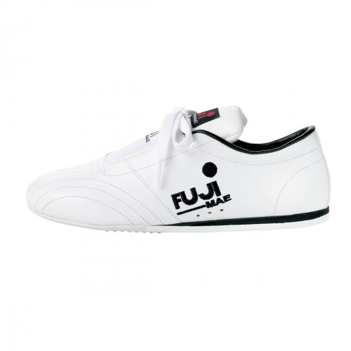 Leather Shoes. White/Black.