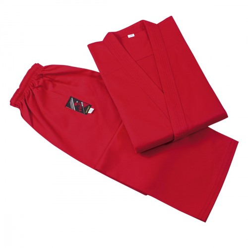 Karate Gi. Rojo