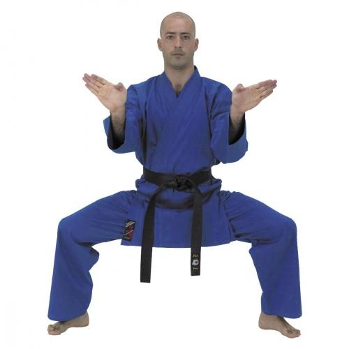 Karate Gi. Azul