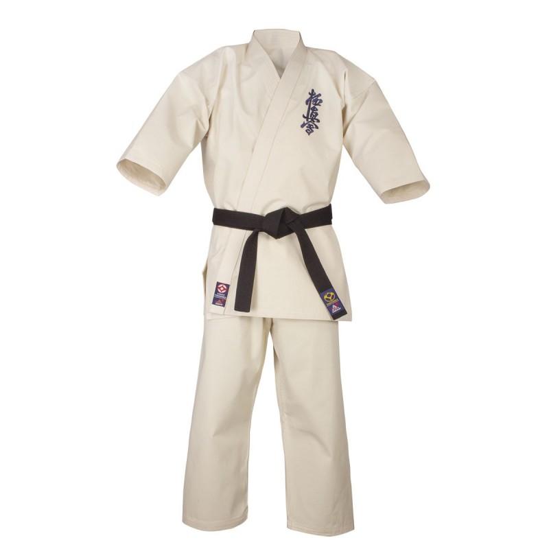 Competition Kyokushin Karate Gi. Unbleached