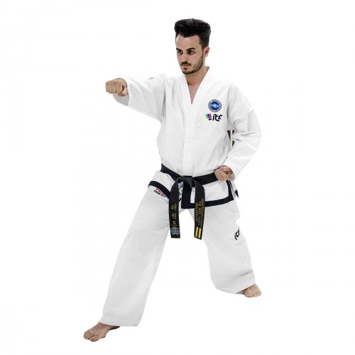 Dobok ITF Black Belt Diamond