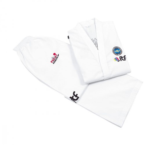 Dobok ITF. Black Belt. Diamond. Approved