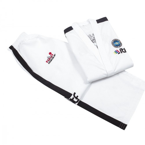ITF Dobok. Instructor. Ribbed. Approved