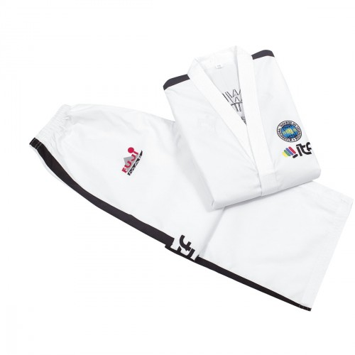 ITF Dobok. Instructor. Diamond. Approved