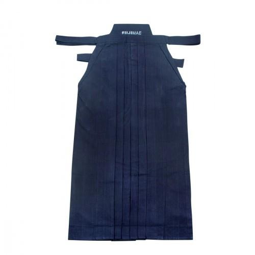 Hakama Coton Lourd. Bleu