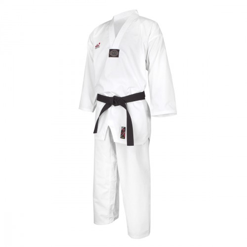 Dobok WT Diamond. Cuello Blanco