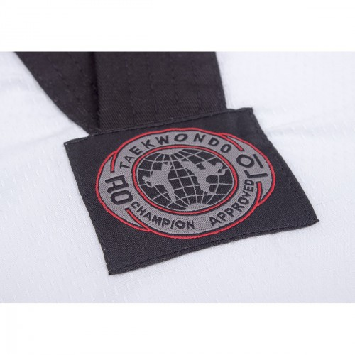 Dobok WT Diamond. Cuello Negro