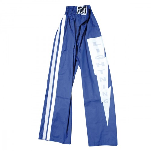 Light Contact Trousers. Blue/Grey