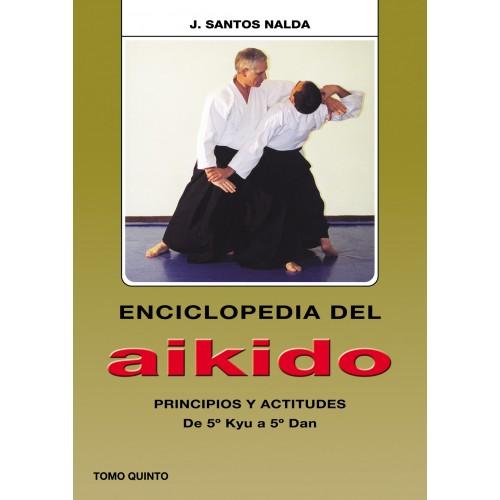 LIBRO : Enciclopedia del Aikido 5. J Santos Nalda