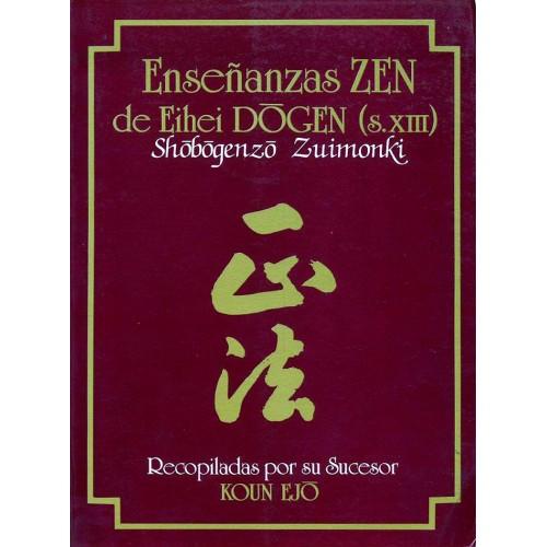 LIBRO : Enseñanzas Zen de Eihei Dogen