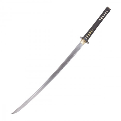 Hagane Maru Forged Steel Katana. Black