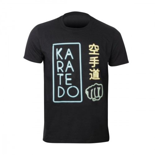 Camiseta Karate. Neons.
