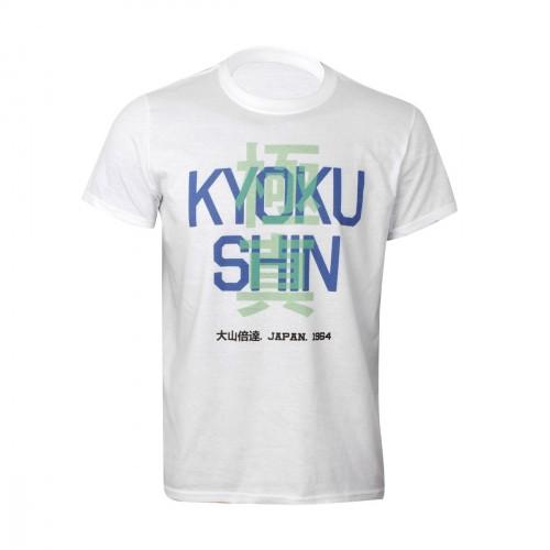 Camiseta Kyokushin. Kanji