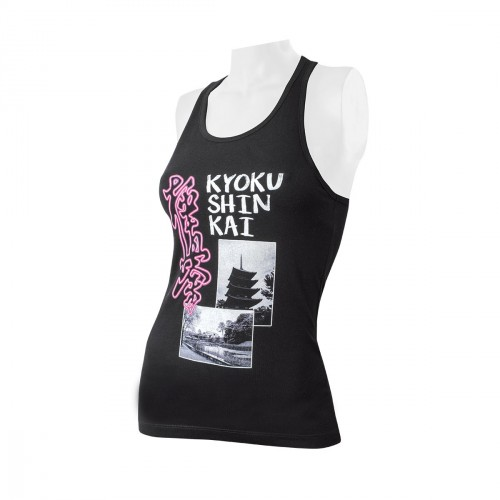 Camiseta Kyokushin Mujer. Memories