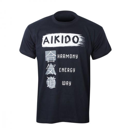 Camiseta Aikido. Principles