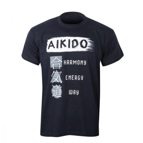 Camiseta Aikido. Principles.