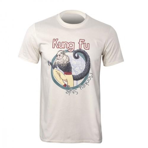 Camiseta Kung Fu. Monkey Style.