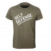 Camiseta Defensa Personal. Text