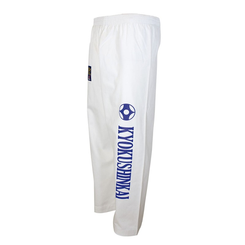 Kyokushinkai-Kanku Trousers. White