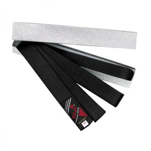 Cinturon Negro Master. Seda. Con caja