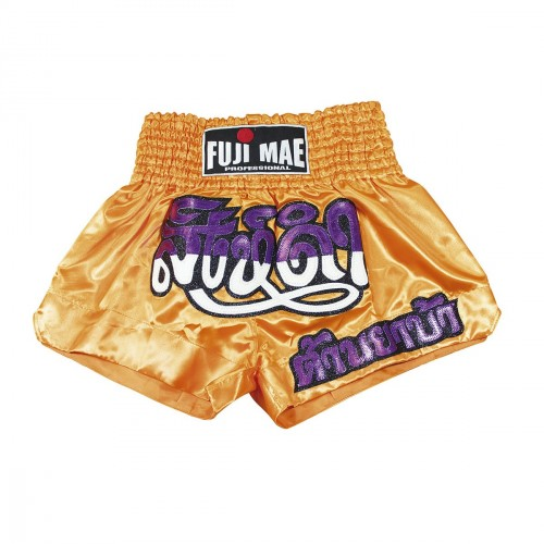 Thai Short. Orange/Purple