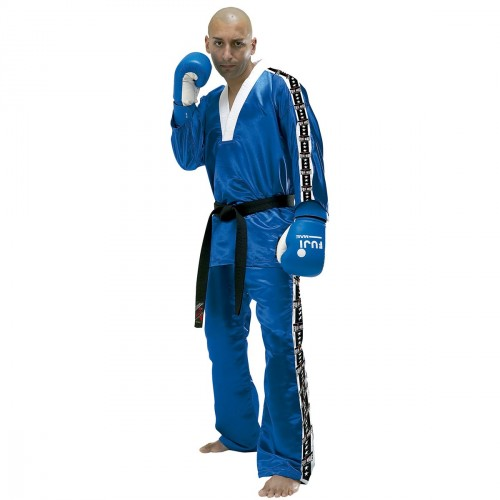 Kick Boxing uniform. Blue