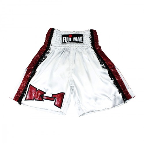 Short K-1. White/Red
