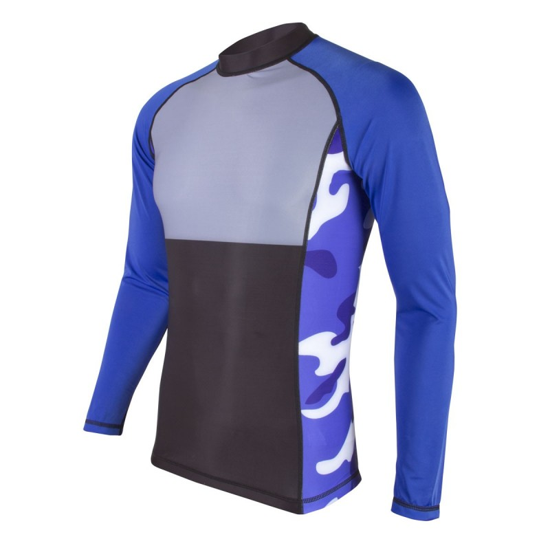 Rashguard MMA. ProWear. Army-Bleu