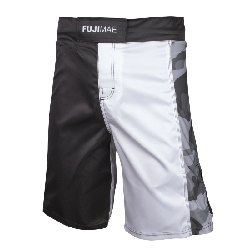 MMA Short. ProWear. Army. Black/White