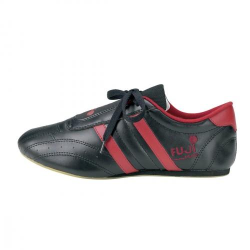 Zapatilla Taekwondo. Negro/Rojo