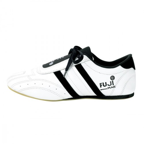 Zapatilla Taekwondo. Blanco/Negro