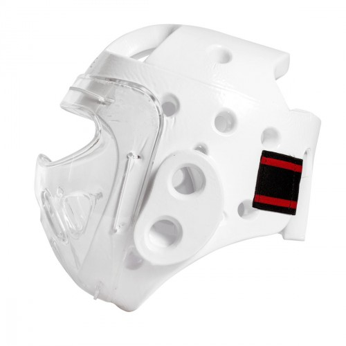 Casque Masque transparent. Dipped Foam. RFEK