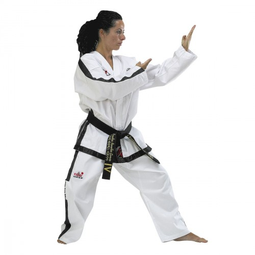 Dobok ITF. Instructor. Ribbed