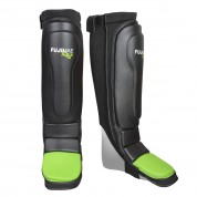 Shin&Instep Guard. FluXe. Black-Lime