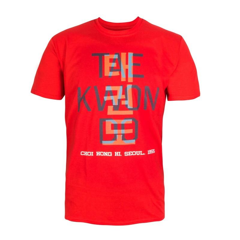 Tee-shirt Taekwondo. Kanji