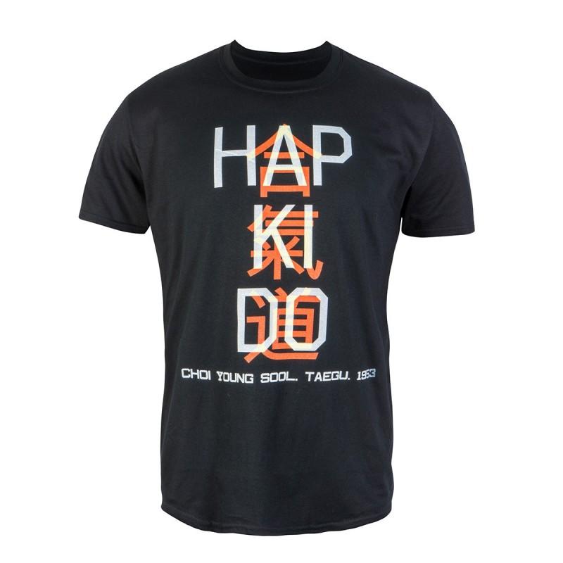 Camiseta Hapkido. Kanji