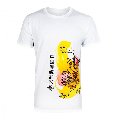 Chinese Martial Arts T-Shirt. Dragon