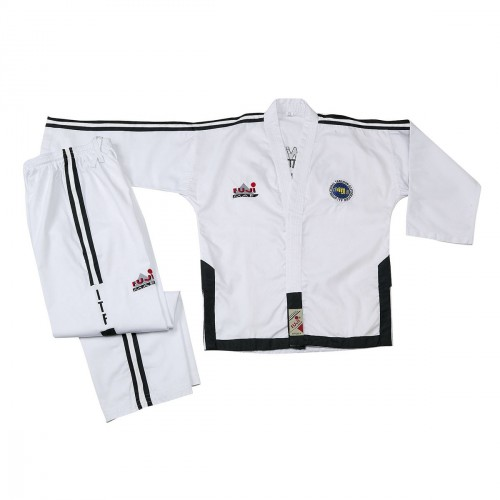 Master Degree ITF Dobok. Ribbed